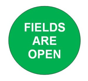 Fields are Open