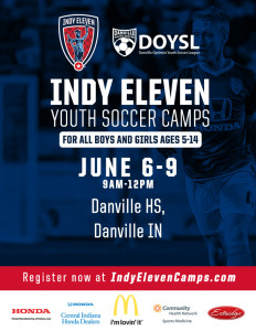 Indy Eleven Youth Soccer Camps @ Danville High School  | Danville | Indiana | United States