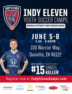 Indy Eleven Youth Soccer Camp & League Night