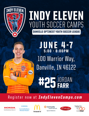Indy Eleven 2018 Youth Soccer Camp